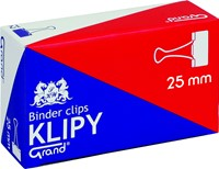 "Klipy do spinania dokumentów Grand 25mm 1"" 12 Szt."