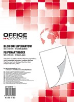Blok Do Flipchartu Office Products 60x90 Cm 50K