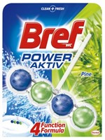 Kulki do toalety WC Bref Power Activ Pine