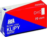 "Klipy Do Spinania Dokumentów Grand 19mm 3/4"" 12 Szt."