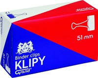 "Klipy do spinania dokumentów Grand 51mm 2"" 12 Szt."